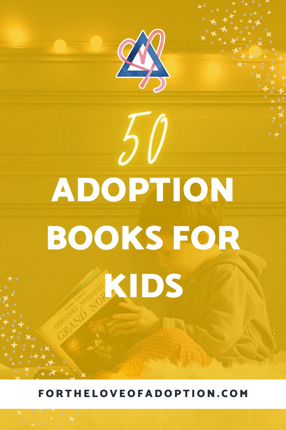 50 adoption books for children
