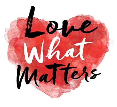 love what matters logo